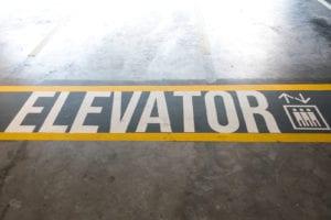 Elevator Floor Graphics